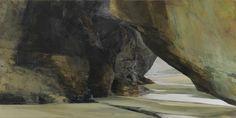 Sarah Adams, Carnewas I, oil on linen, 60 x 120 cm