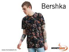 En Bershka puedes encontrar una amplía colección de playeras para hombre diseñadas con las últimas tendencias, como ésta de estampado floral lista para la temporada de primavera. Visita Bershka México y obtén un reembolso de impuestos con Moneyback! #viajeamexico