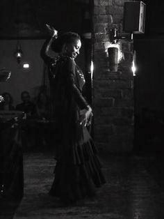 La Yinka en la peña Murcia Flamenca. Foto: Bernardo Sáez