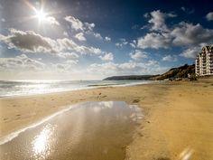 Sandown Beach in spring time!  (isle of Wight) #redfunnel