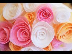Wafer Paper Fantasy Flower Tutorial (no sound added) - YouTube