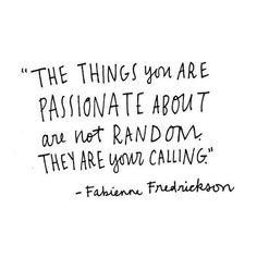 Monday motivation to follow your calling  #fwportfolio #freelancewisdom