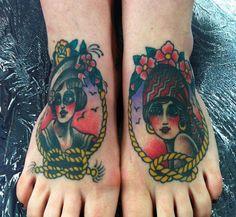 feet tattoo - Sök på Google