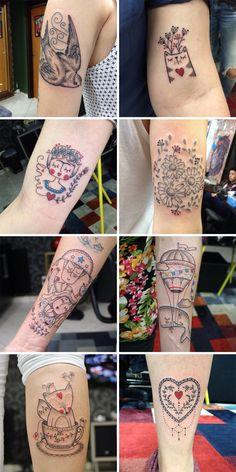 tattoos dani bianco