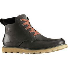 7982c7c8651 Sorel - Madson Moc Toe Waterproof Boot - Men's - Grill/Black Size 10 Sorel