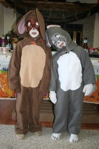 sibling tom and jerry costume