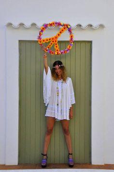 Gypsy Style, Bohemian Style, Boho Chic, Ethnic Chic, Ibiza Fashion, Fringes, White Dress, Boutique, Instagram Posts