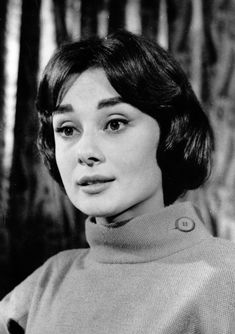 Audrey Hepburn during an interview about her new movie War and Peace, England, 1956.