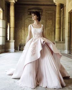 Capping off the series of royal wedding-worthy gowns posted today with this…