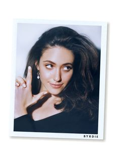 Emmy Rossum Doesn't Care About Having a Perfect Instagram Life via @ByrdieBeauty