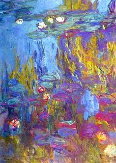 Claude Monet. Water Lilies (1917).