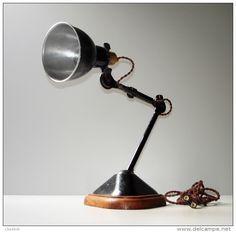 gras lamp wood | La Boutique Vintage