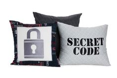 Secret Code Pillow Set #beddysdreamroom