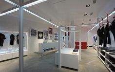 Ecko Unltd. flagship store by Stone Designs, 2011 Madrid (Spain) #ecko #StoneDesigns