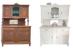 Ich möchtet ein altes Buffet oder Möbelstück restaurieren? Am besten im shabby-Look oder im angesagten matten Anstrich in Kreideweiss? Erfahrt mehr..