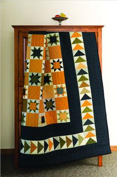 Cheddar Quilts are Popular Again flying geese stars cheddar quiltflying geese stars cheddar quilt Star Quilt Patterns, Star Quilts, Scrappy Quilts, Mini Quilts, Canvas Patterns, Colchas Quilt, Quilt Border, Quilt Blocks, Star Blocks