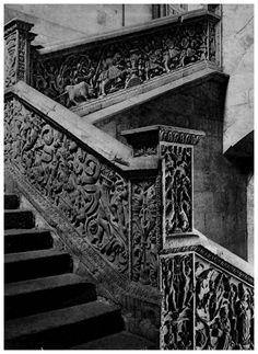 Escalera de la Universidad de Salamanca.