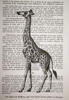 giraffe book art 2