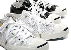 Converse Jack Purcell : Having implemented patent leather onto various models last year, Converse hit their Jack High Top Sneakers, Sneakers Nike, Converse Jack Purcell, Hypebeast, World Of Fashion, Patent Leather, Air Jordans, Kicks, My Style