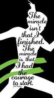 the miracle...having completed my first half marathon in February knowing I just began jogging eight weeks prior, I agree!!!! #weightlossrecipes
