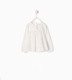 Shirt with stars-MUST HAVES-Baby girl | 3 months - 3 years-KIDS | ZARA United States