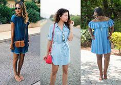 8 jeitos de usar jeans no verão - Moda it