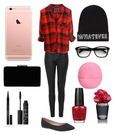 Untitled #18 by outfitsforanythingg on Polyvore featuring polyvore, beauty, Elizabeth Arden, Eos, OPI, Local Heroes, Hollister Co., NARS Cosmetics, John Lewis, Topshop and Lane Bryant