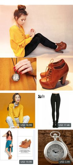 This is Wioletta Mary Kate's buyer show in OurMall;  1.winter all-match solid color o-neck solid color basic long-sleeve sweater loose 2.2016 Ladies Long Trousers Newest Women's Fashionable Pockets Button Fly 3.new fashion women boots  ankle boots winter women lady sexy 4.Quartz Po... please click the picture for detail. http://ourmall.com/?2amQzy