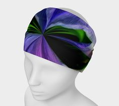 "Headband+""Iris+Orb+Tie+Dye+Effect+Headband""+by+Scott+Hervieux+Photography,+Art,+and+More"