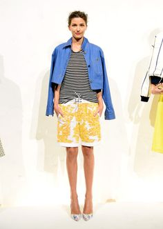 Bold Colors at the J.Crew Spring 2015 NYFW Presentation: (http://racked.com/archives/2014/09/09/jcrew-womens-nyfw-spring-2015.php)