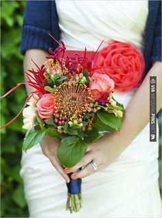 wildflower bouquet | VIA #WEDDINGPINS.NET