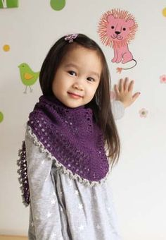 Princess Shawl from Petite Purls for your Girl or You