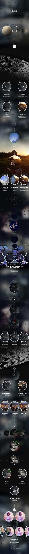 MOON smart watch project on Behance