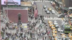 Check out Times Square Crossroads in New York City, NY, United States. http://www.earthcam.com/usa/newyork/timessquare/?cam=tsrobo3