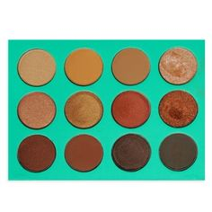 The Nubian 12pcs Eyeshadow Collection