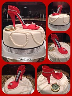 1000 Images About Stiletto Shoe Cakes By Cake Daddy On