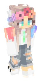 Check out our list of the best Rainbow Minecraft skins. Minecraft Skins Rainbow, Minecraft Skins Female, Minecraft Skins Aesthetic, How To Play Minecraft, Minecraft Stuff, Minecraft Ideas, Minecraft Banners, Minecraft Decorations, Minecraft Designs