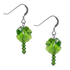 Make your own Fern Clover Pop Earrings!