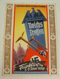 German  Ww2 Propaganda Post Card :