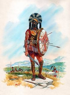 Ancient Greek warriors   Level 2 Classical Studies   Pinterest   Greek