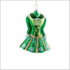 Irish Step Dance Dress Onament