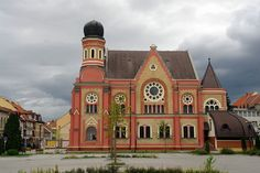 Synagogue Zalaegerszeg Wikimedia Commons, Hungary, Tourism, Mansions, House Styles, Building, Home, Turismo, Manor Houses