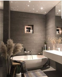 Find images and videos about home, design and house on We Heart It - the app to get lost in what you love. Dream Bathrooms, Beautiful Bathrooms, Master Bathrooms, Bathrooms Decor, Master Baths, Contemporary Bathrooms, Home Design, Design Ideas, Bath Design