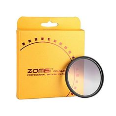ZOMEi Ultra Slim GCGRAY Gradient Gray Neutral Density Filter  77mm * Learn more by visiting the image link.