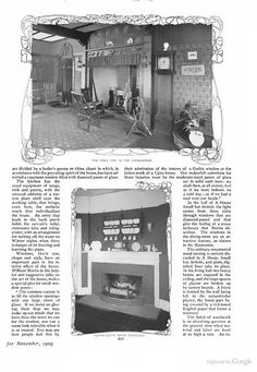 Quaint kitchen - The Delineator  Nov. 1903- Google Books