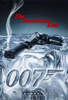 DIE ANOTHER DAY- 2002 - Teaser Movie Poster - JAMES BOND