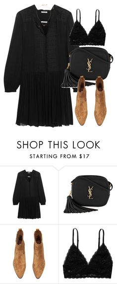 """""""Untitled #5918"""" by laurenmboot ❤ liked on Polyvore featuring Étoile Isabel Marant, Yves Saint Laurent and Monki"""