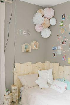 Une belle #décoration pour la #chambre d'un #enfant. http://www.m-habitat.fr/par-pieces/chambre/amenager-une-chambre-pour-enfant-2624_A