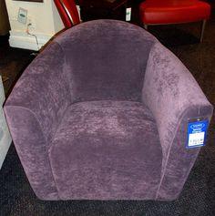 cozy purple chair