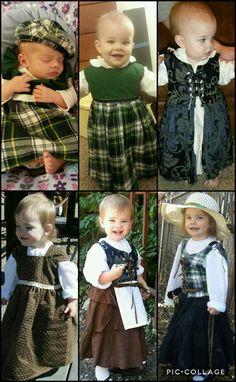 Renaissance Faire costume for little girl